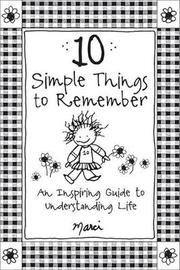 10 Simple Things to Remember by Marci image