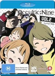 Occultic;nine Vol. 2 (eps 7-12) Limited Edition on Blu-ray image