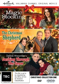 Hallmark Christmas Collection One - Magic Stocking, Christmas Shepherd, Dashing Through The Snow on DVD