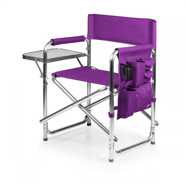 Portable Folding Spectator Chair - Purple