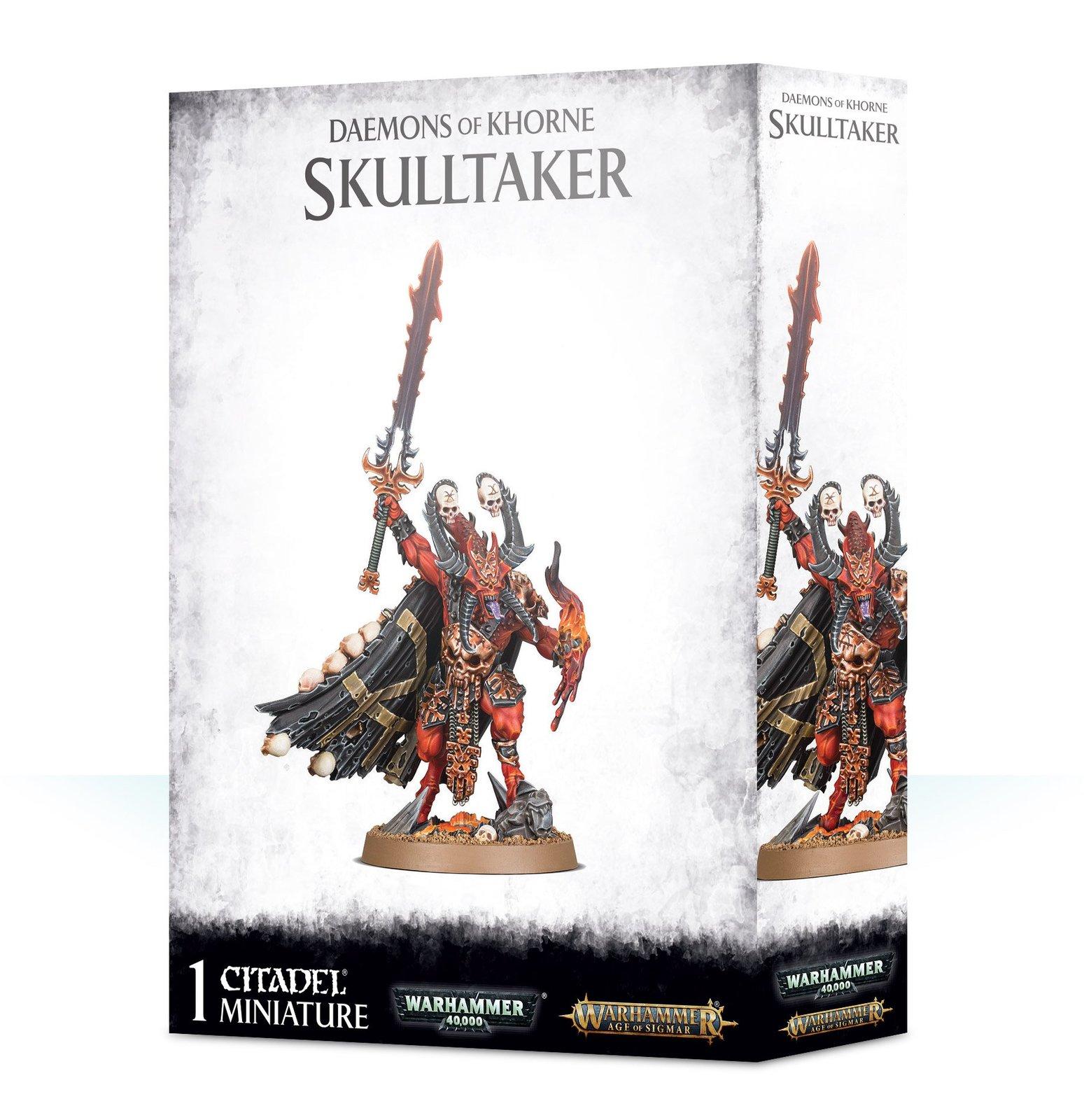 Warhammer Age of Sigma: Daemons Of Khorne Skulltaker image