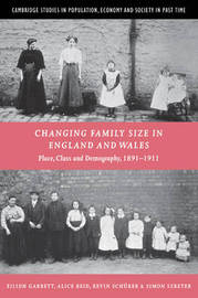 Changing Family Size in England and Wales by Eilidh Garrett image