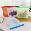 Ape Basics: Set of 4 Resuable Silicone Storage Bags (1000ml)