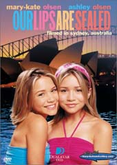Mary-Kate and Ashley:  Our Lips Are Sealed on DVD