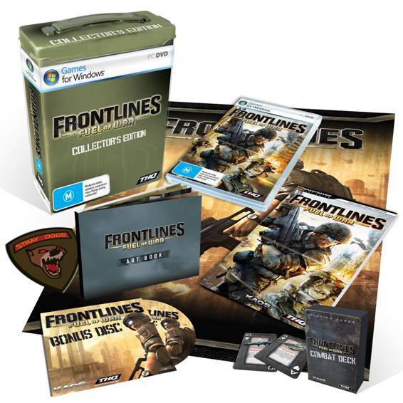 Frontlines: Fuel of War Limited Collector's Edition for PC Games