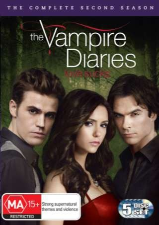 Vampire Diaries - The Complete Second Season on DVD