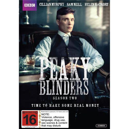 Peaky Blinders Season 2 on DVD