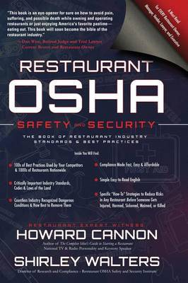 Restaurant OSHA Safety and Security by Howard Cannon