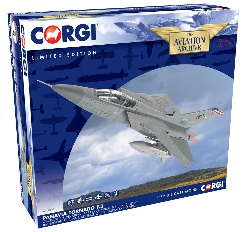 Corgi: 1/72 Tornado F.3: RAF 'Desperation' - Diecast Model image