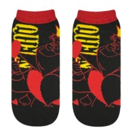 Disney: Queen of Hearts (Neon Logo) - Ladies Socks