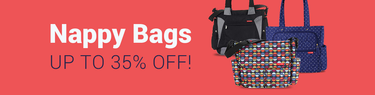 Nappy Bag Deals - order & save today!