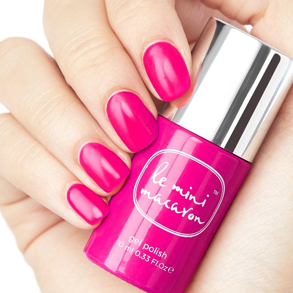 Buy Le Mini Macaron Gel Nail Polish - Strawberry Pink at Mighty Ape NZ