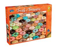 Holdson: Treats 'n Treasures S2 - Doughnuts (1000pc puzzle)