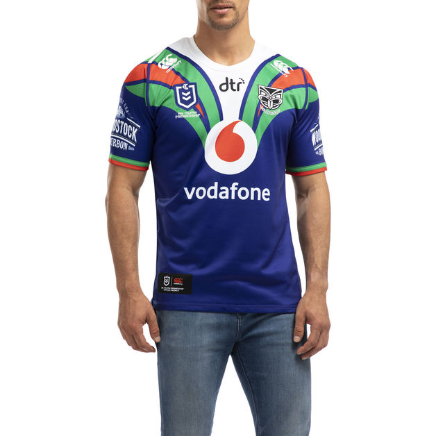Vodafone Warriors Home Jersey (4XL)