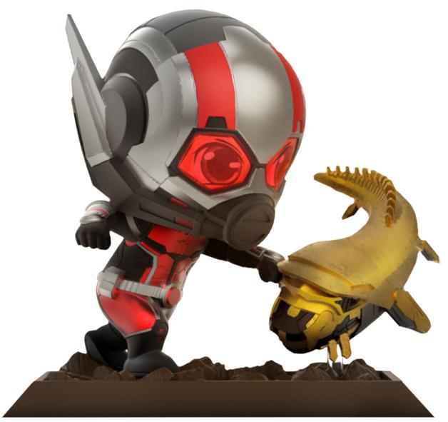 Avengers: Endgame -Ant-Man & Leviathan Cosbaby Figure Set (Large)