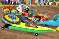 SpongeBob's Boating Bash for Nintendo Wii image