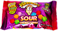 Warheads Sour Chewy Cubes (113g) image