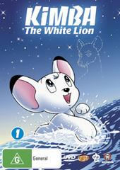 Kimba The White Lion - Volume 1 (2 Disc Set) on DVD