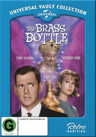 The Brass Bottle on DVD