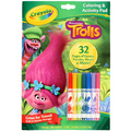 Crayola: Coloring and Activity Pad – Trolls