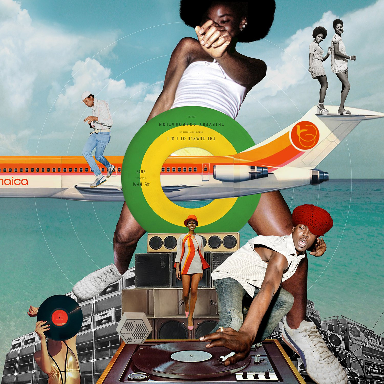 Temple Of I & I (2LP) by Thievery Corporation image