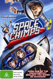 Space Chimps on DVD