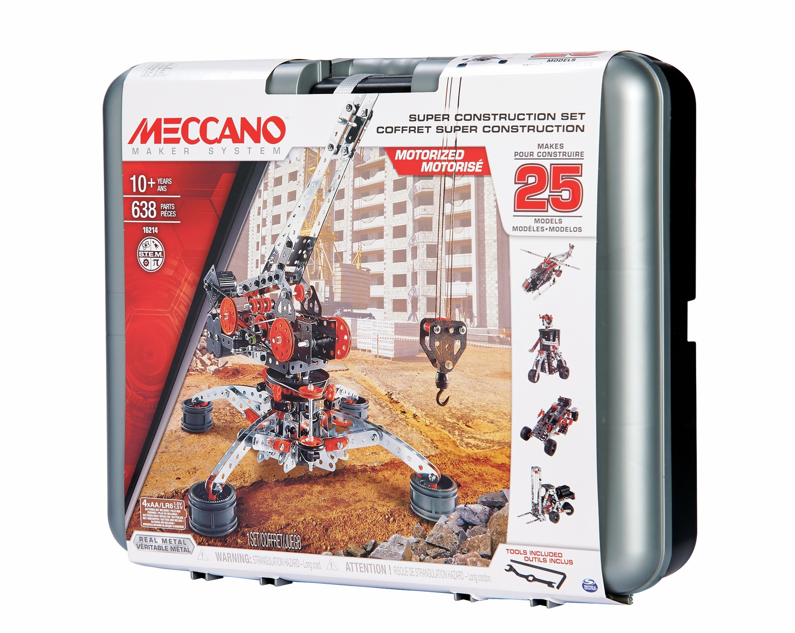 Meccano: 25 Model Super Construction Set image