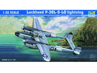 Trumpeter 1/32 Lockheed P-38L-5-LO Lightning - Scale Model