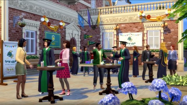 The Sims 4 Discover University (code in box) for PC image