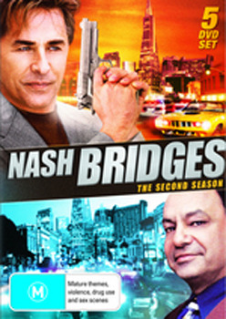 Nash Bridges - The Second Season (5 Disc Set) on DVD