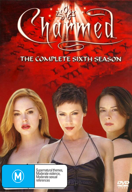 Charmed - Complete 6th Season (6 Disc Set) on DVD