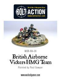 British Airborne - Vickers HMG & Crew