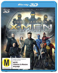 X-Men: Days of Future Past 3D on Blu-ray, 3D Blu-ray, UV