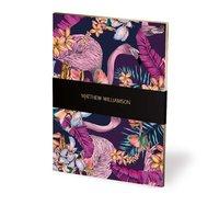 Museum & Galleries: Mathew Williamson Deluxe Notebook - Flamingo Bay