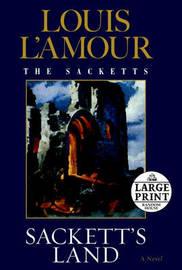Lge Pri Sackett's Land by Louis L'Amour image