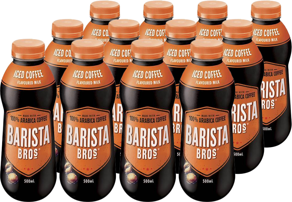 Barista Bros Iced Coffee (500ml, 12 pack) image