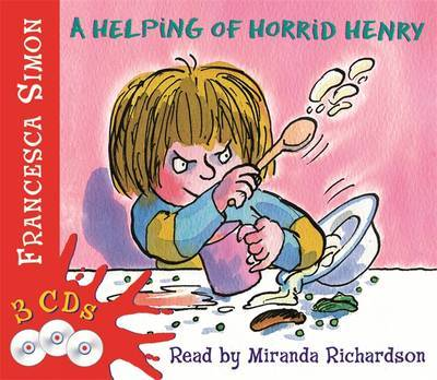 A Helping of Horrid Henry 3-in-1 by Francesca Simon image
