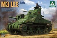 Takom 1/35 US M3 Lee Medium Tank (Early Model) Model Kit image