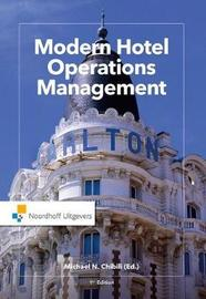 Modern Hotel Operations Management by Michael Chibili image