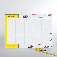 Mustard: Weekly Planner - Wink