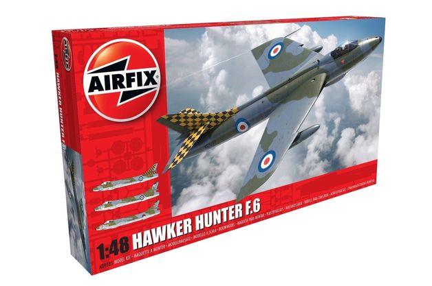 Airfix 1:48 Hawker Hunter F.6 1:48 Model Kit