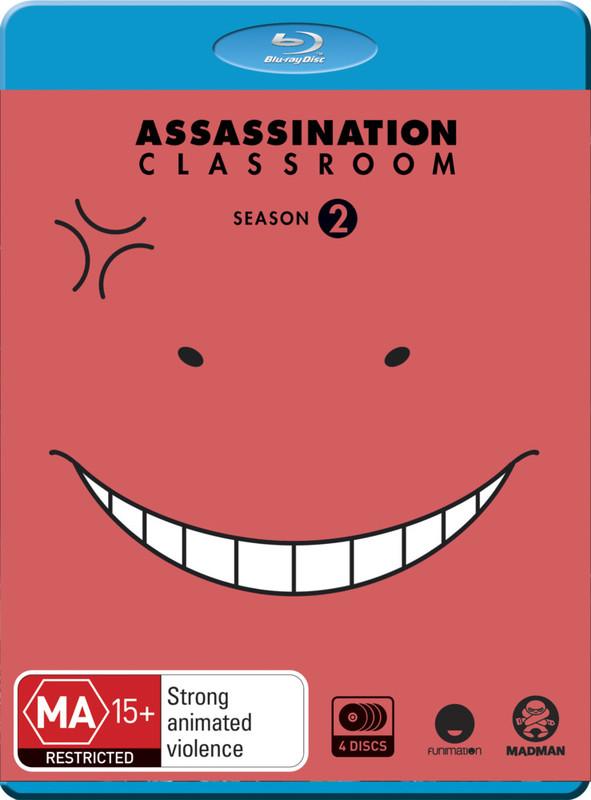 Assassination Classroom Complete Season 2 on Blu-ray