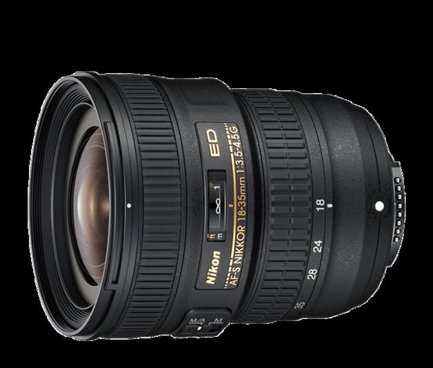 Nikon: AF-S NIKKOR 18-35mm f/3.5-4.5G ED
