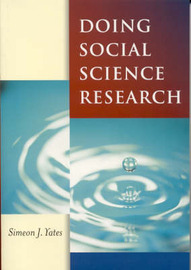 Doing Social Science Research by Simeon J. Yates image