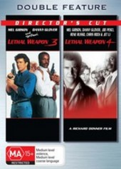 Lethal Weapon 3 / Lethal Weapon 4 - Double Feature (2 Disc Set) on DVD