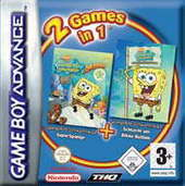 Spongebob Supersponge/Bikini Bottom 2 pack for Game Boy Advance