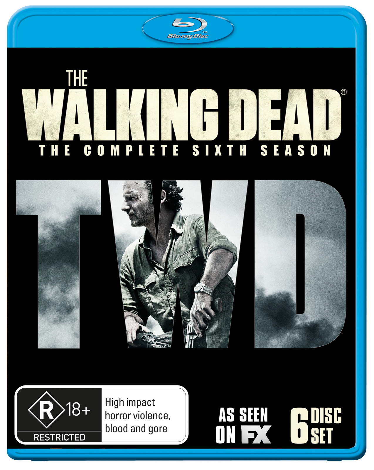 The Walking Dead - The Complete Sixth Season on Blu-ray image