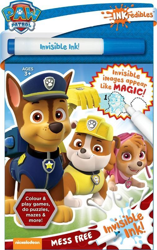 Inkredibles: Paw Patrol - Invisible Ink Set