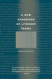 A New Handbook of Literary Terms by David Mikics image