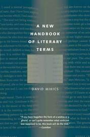 A New Handbook of Literary Terms by David Mikics image
